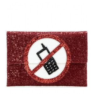 Anya Hindmarch Valorie embellished clutch, $650