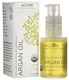 ACURE 100% USDA Organic Moroccan Argan Oil, $13.49, via Amazon