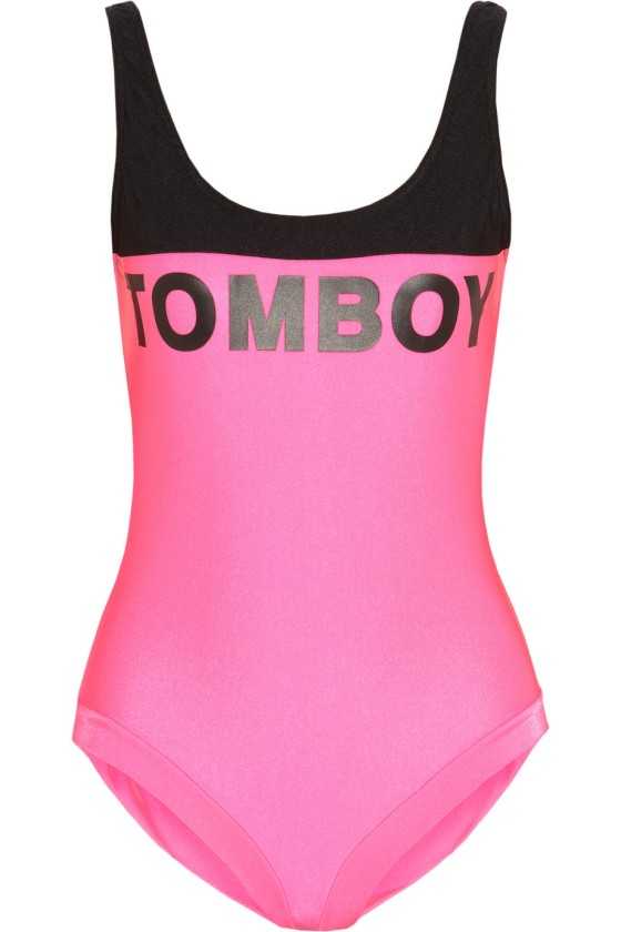 Filles À Papa Malibu Tomboy swimsuit, $230 now $34.50