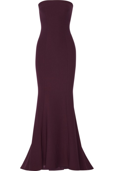 ELIZABETH AND JAMES Kendra stretch-ponte gown$695