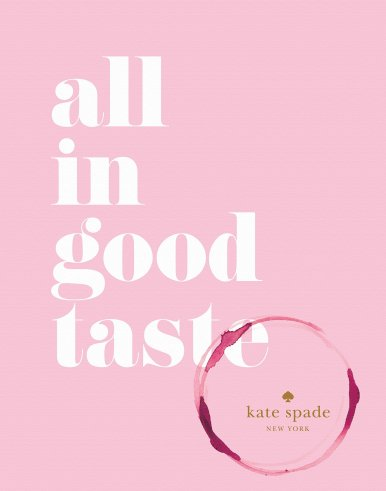 Kate Spade New York: all in good taste, $17.80