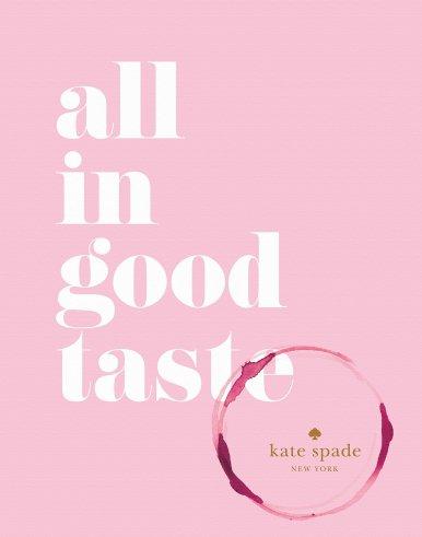 Kate Spade New York: all in good taste, $17.80