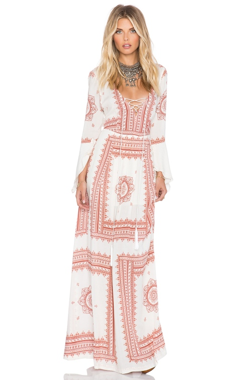 SU2C X REVOLVE SANTORINI DRESS THE JETSET DIARIES $249.00