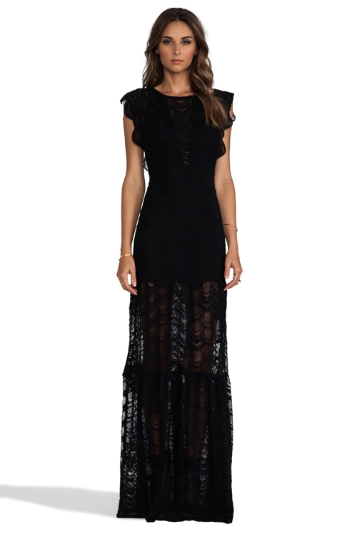 CALETTO MAXI DRESS NIGHTCAP, $495.00