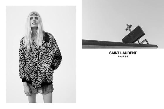 Saint Laurent Spring/Summer 2016 Campaign
