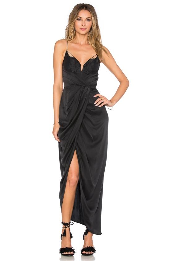 Zimmermann Sueded Silk Underwire Long Dress, $525.00