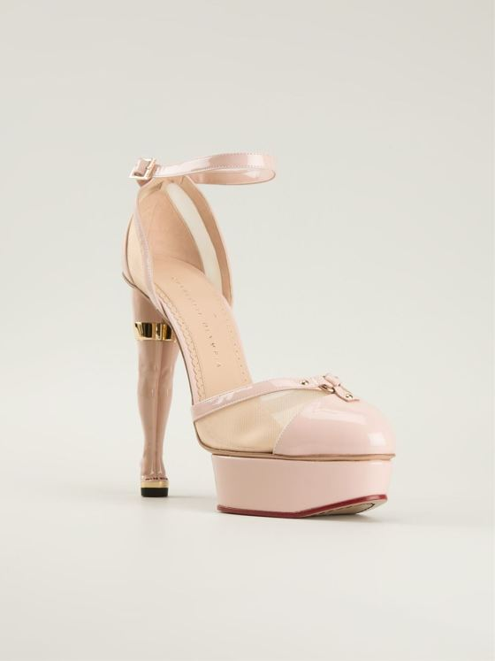 Charlotte Olympia 'Cheeky' pumps, $1,608.07