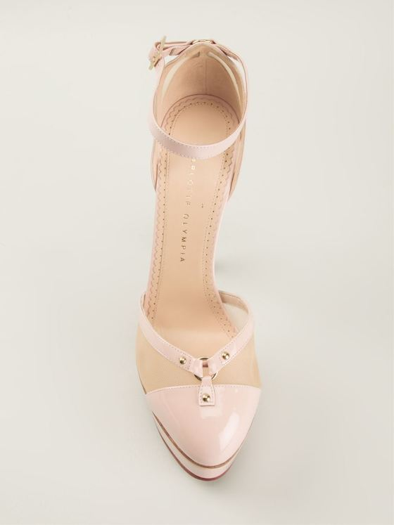 CHARLOTTE OLYMPIA  'Cheeky' pumps