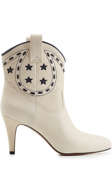 Marc Jacobs Georgia Leather Cowboy Boots, $585