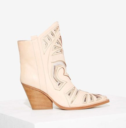 Jeffrey Campbell Belfire Leather Cowboy Boot, $185.00