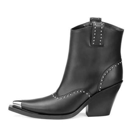 Givenchy Studded Leather Western Boot, $1,550.00