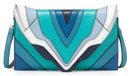 Elena Ghisellini Selina Rainbow Clutch Bag, $830.00