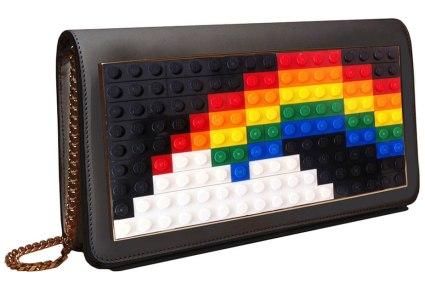 Les Petits Joueurs Janis Micro Rainbow Mini Clutch, $640, via Neiman Marcus