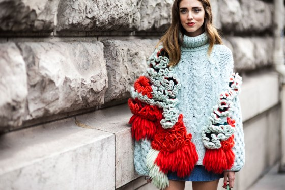Chiara Ferragni, aka fashion blogger The Blonde Salad