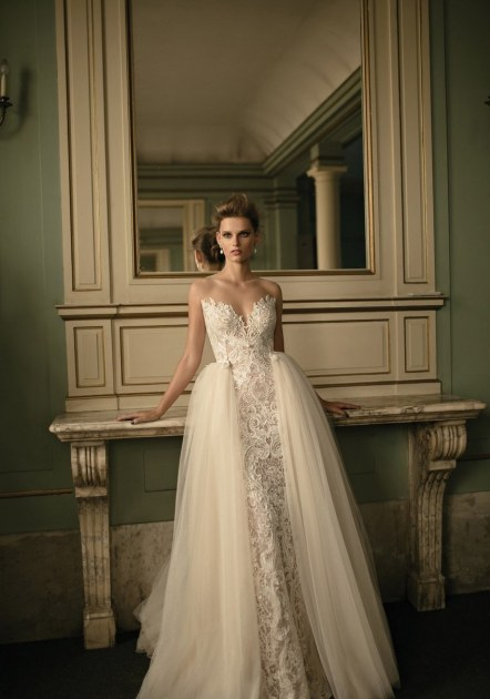 Berta Beaded Lace & Tulle Ballgown (In Stores Only), $10,230, via Nordstrom