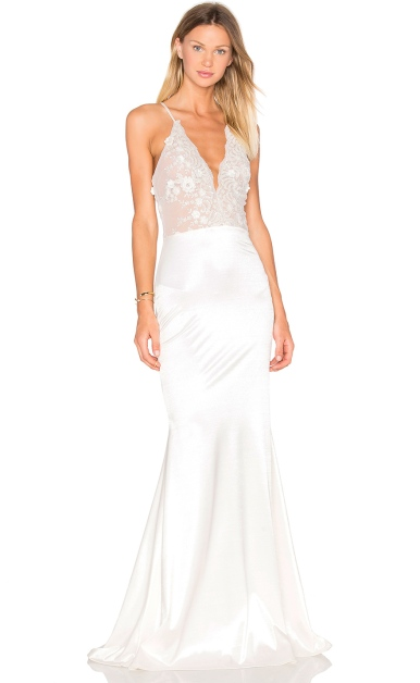 Lurelly Glacer Gown, $1,600, via Revolve Clothing
