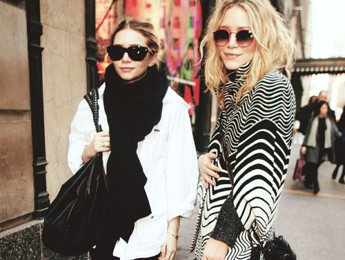 Mary Kate & Ashley Olsen, via Pinterest