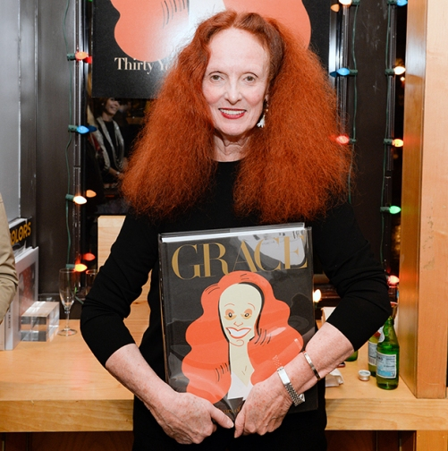 Grace Coddington, via Presley Ann/PMC