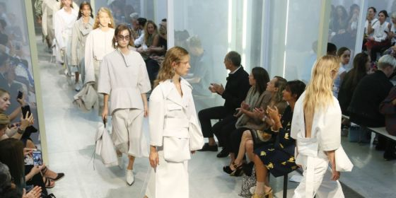 Marni's Spring/Summer '17 show at Milan Fashion Week via Elle.com