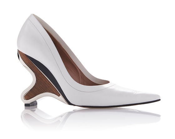 Marni Sculptural Pump, $980, via Moda Operandi