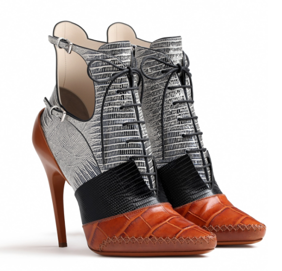 Dior Cognac Calfskin Ankle Boot, price upon request